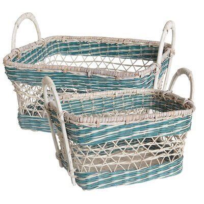 Midwest-CBK Open Weave Rectangle Basket
