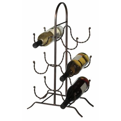Midwest-CBK Rope 6 Bottle Table Top Wine Rack