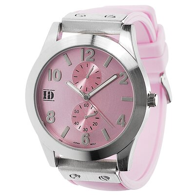 Geneva Platinum Women's Silicone Watch