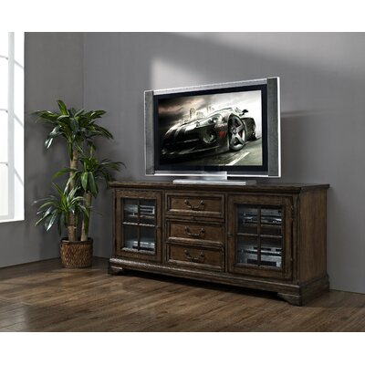 Strongson Furniture San Andorra Entertainment Center with Side Storage