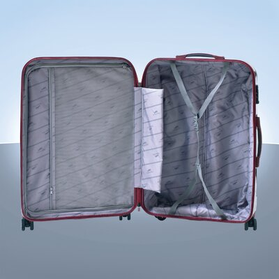 "Mancini M-Tech4 20"" Hardsided Carry-on Spinner Suitcase"
