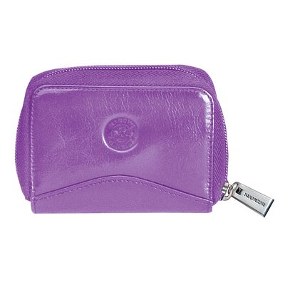 Mancini Equestrian Accordion Credit Card Case