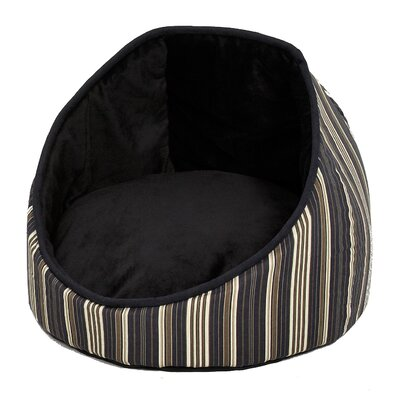 Midwest Homes For Pets Quiet Time Cabana Reversible Stripes Bolster Dog Bed