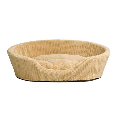 Honeycomb Weave Bolster Dog Bed