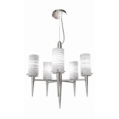 Bazz Inciso 5 Light Pendant Chandelier