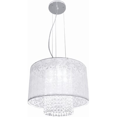 Bazz Glam 3 Light Pendant Chandelier