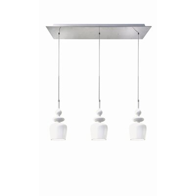 Bolo 3 Light Kitchen Island Pendant