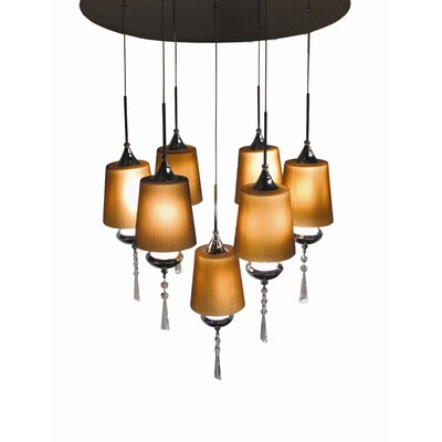 Bazz Versa 7 Light Pendant Chandelier