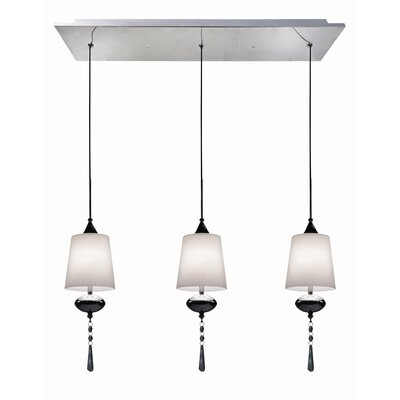 Versa 3 Light Kitchen Island Pendant