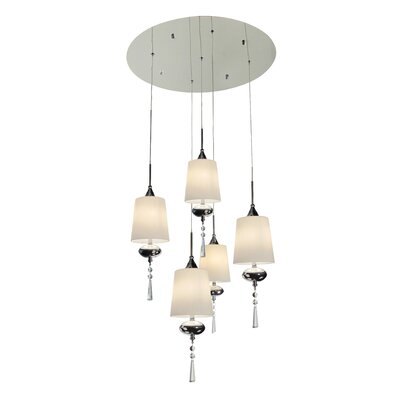 Bazz Versa 5 Light Pendant Chandelier