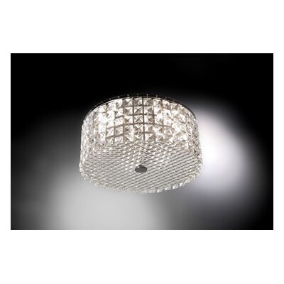 Bazz Glam 3 Light Flush Mount