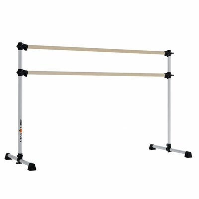 Vita Vibe Prodigy Series Traditional Wood Double Bar Ballet Barre