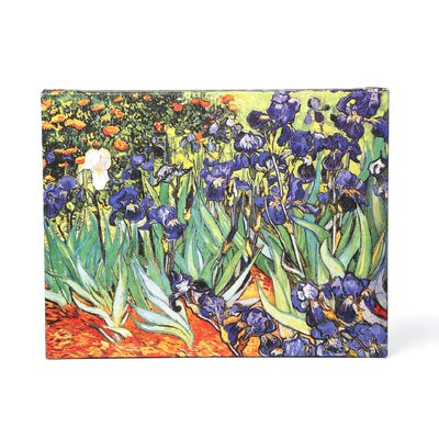 <strong>Art Wall</strong> Vincent Van Gogh ''Irises in the Garden'' Canvas Art