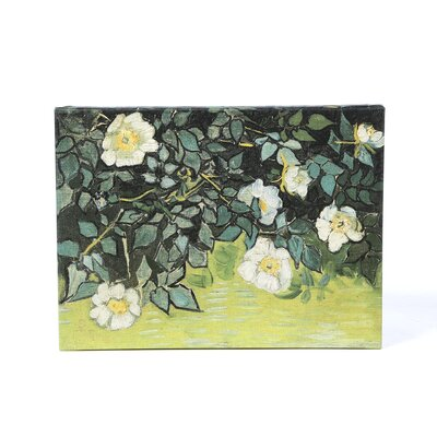 <strong>Art Wall</strong> Vincent Van Gogh ''Wild Roses'' Canvas Art
