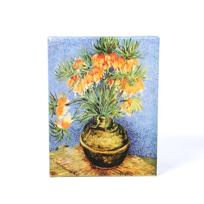 Art Wall Vincent Van Gogh ''Fritillaries'' Canvas Art
