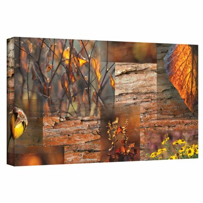 'October Light' by Cora Niele Gallery Wrapped on Canvas
