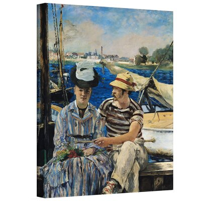 'Argenteuil' by Edouard Manet Gallery-Wrapped on Canvas