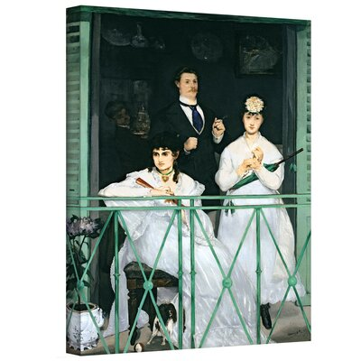 'The Balcony' by Edouard Manet Gallery-Wrapped on Canvas