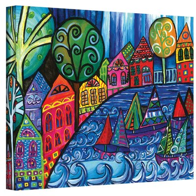 Debra Purcell ''The Watershed'' Canvas Art