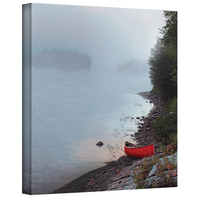 Ken Kirsch ''Smoke on the Water'' Canvas Art