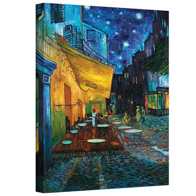 Vincent Van Gogh ''Cafe Terrace at Night'' Canvas Art