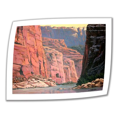 Rick Kersten 'Colorado River Walls' Unwrapped Canvas Wall Art