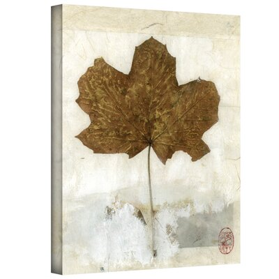 Elena Ray 'Golden Leaf' Gallery-Wrapped Canvas Wall Art