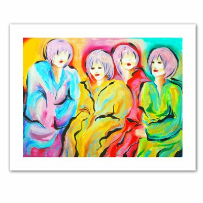 Susi Franco 'Mood Swings' Unwrapped Canvas Wall Art