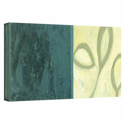 Jan Weiss 'Three Leaves II' Gallery-Wrapped Canvas Wall Art