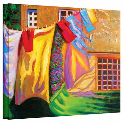 Art Wall Susi Franco 'French Laundry' Gallery-Wrapped Canvas Wall Art
