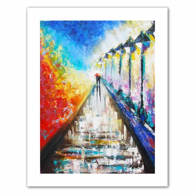 Art Wall Susi Franco 'Paris Sweethearts' Unwrapped Canvas Wall Art