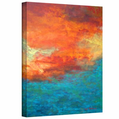 Herb Dickinson 'Lake Reflections II' Unwrapped Canvas Wall Art