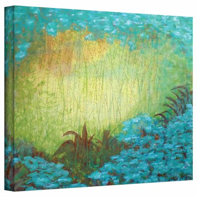 Gallery-Wrapped 'Morning Light II' by Herb Dickinson Painting Print on Canvas