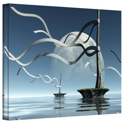 Cynthia Decker 'Ribbons' Gallery-Wrapped Canvas Wall Art