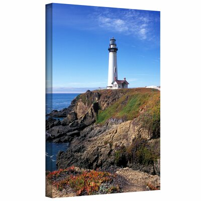 Kathy Yates 'Pigeon Point Lighthouse 2' Gallery-Wrapped Canvas Wall Art