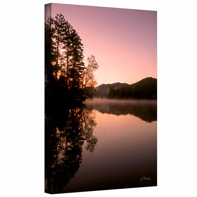 Art Wall Linda Parker 'Mirror Lake, Lake Placid' Gallery-Wrapped Canvas Wall Art