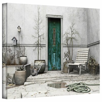 Cynthia Decker 'Winter Garden' Gallery-Wrapped Canvas Wall Art