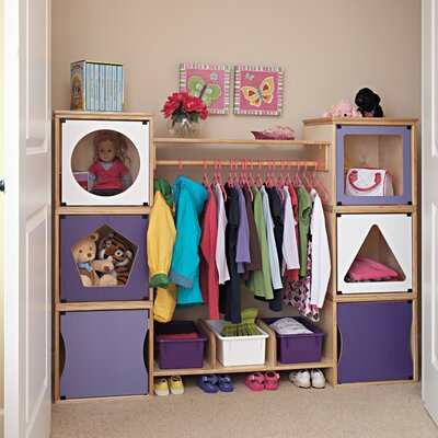 "Jonti-Craft Closet Girl 15"" Bookcase"