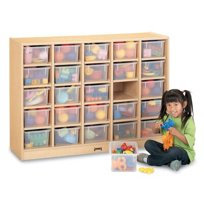 Jonti-Craft 25 Tray Mobile Cubbie