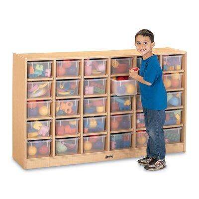 Jonti-Craft 30 Compartment Mobile Storage Cubby