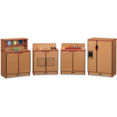 Jonti-Craft School Age Birch Kitchen - 4 Piece Set