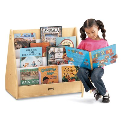 Jonti-Craft 28&quot; H Big Pick-a-Book Stand - 1 Sided