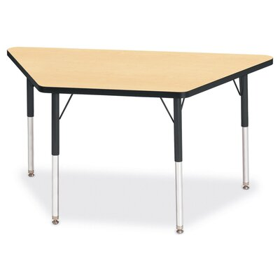 "Jonti-Craft KYDZ Activity Table- Trapezoid (24"" x 48"")"
