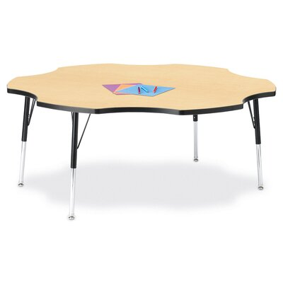"Jonti-Craft KYDZ Activity Table- Six Leaf(60"" Diameter)"