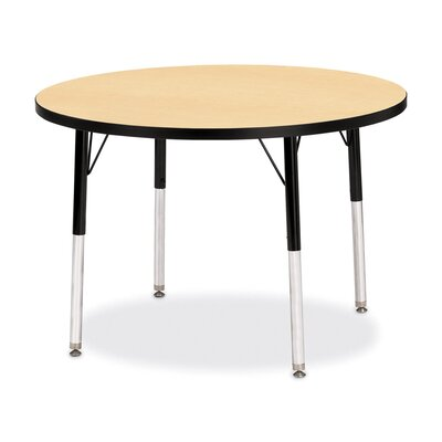 "Jonti-Craft Rainbow Accents KYDZ Activity Table- Round (36"" Diameter)"