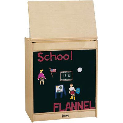 Jonti-Craft ThriftyKYDZ Big Book Easel - Flannel