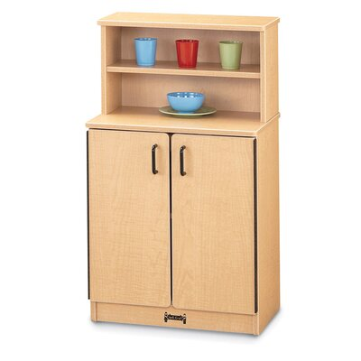 Jonti-Craft Natural Birch Cupboard