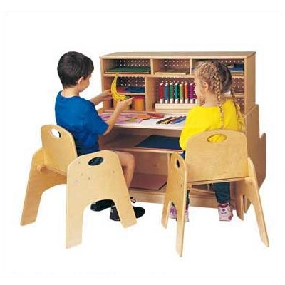 Jonti-Craft Mini 36&quot; W Script-n-Skills Station Children's Desk