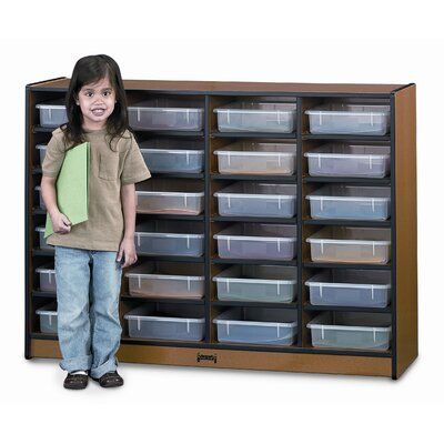 Jonti-Craft Sproutz Paper-Tray 24 Compartment Cubby