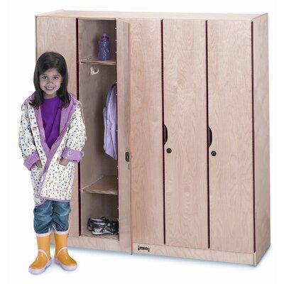 Jonti-Craft 5 Section Locker with Doors